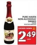 Pure Haven Non-alcoholic Drinks 750 Ml