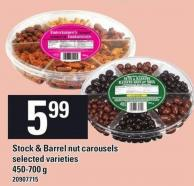 Stock & Barrel Nut Carousels - 450/700 g