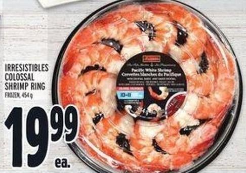 Irresistibles Colossal Shrimp Ring