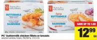 PC Buttermilk Chicken Fillets Or Breasts - 750/907 g
