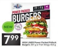 High Liner Power Packed Pollock Burgers