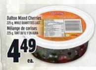 Dalton Mixed Cherries 225 g