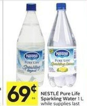 Nestle pure life water coupons $3