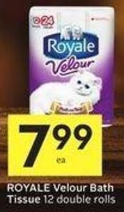 Royale Velour Bath Tissue