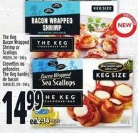 The Keg Bacon Wrapped Shrimp Or Scallops