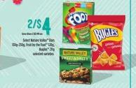 Select Nature Valley Bars - 30g-230g - Fruit By The Foot - 128g - Bugles - 211g
