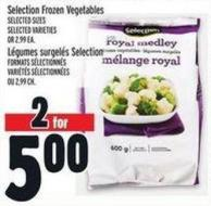 Selection Frozen Vegetables