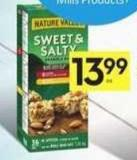 Nature Valley Sweet & Salty Club Pack - 30 Air Miles Bonus Miles