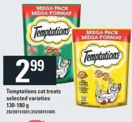Temptations Cat Treats - 130/180 G