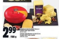 Bergeron Or Louis Cyr Gouda Cheese Or Castello Tickler Aged Cheddar