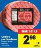Cook's Portion Ham