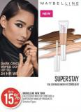 Maybelline New York Facestudio Master Contour or Superstay Makeup Products