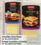 Irresistibles Sliced Cheese