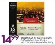 Keurig Sensations By Compliments Coffee K-cup Pods
