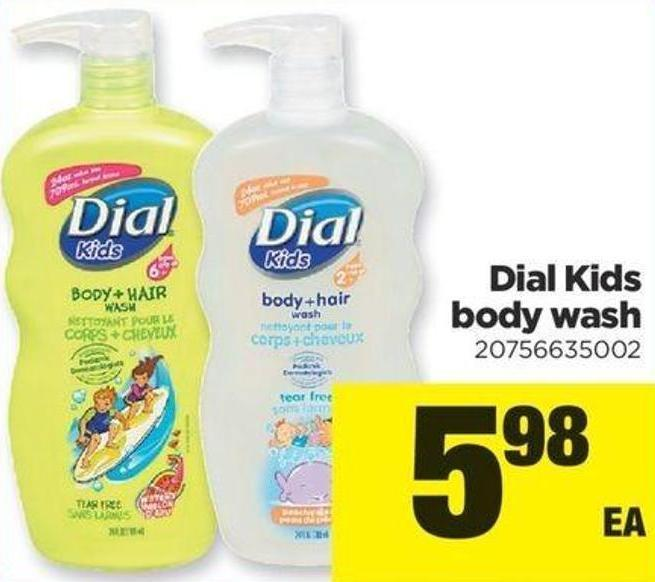 Dial Kids Body Wash