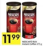 Nescafé Rich Instant Coffee 475 g