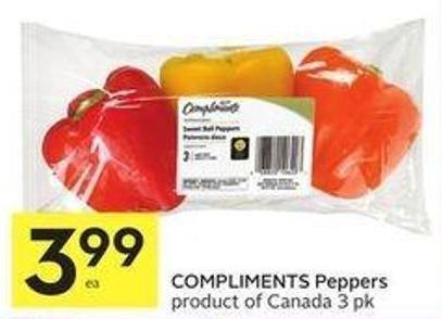 Compliments Peppers