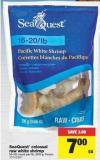 Seaquest Colossal Raw White Shrimp - 300 G
