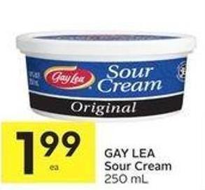 Gay Lea Sour Cream 250 mL
