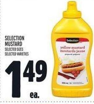 Selection Mustard