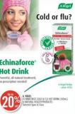 Vogel Echinaforce Cold & Flu Hot Drink (100ml) or Natural Health Products