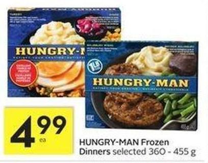 Hungry-man Frozen Dinners