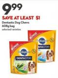 Dentastix Dog Chews  608g Bag