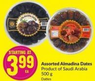 Assorted Almadina Dates Product of Saudi Arabia 500 g