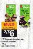 PC Organics Chocolate Bars - 100 G