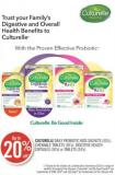 Culturelle Daily Probiotic Kids Sachets (30's) - Chewable Tablets (30's) - Digestive Health Capsules (30's) or Tablets (24's)