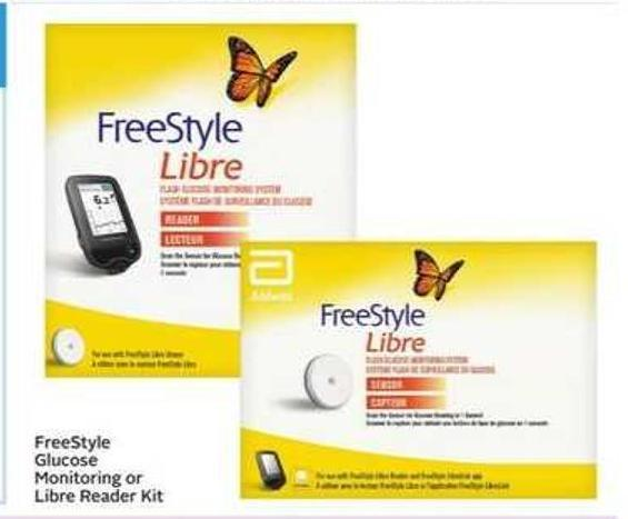 Freestyle Glucose Monitoring or Libre Reader Kit