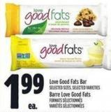 Love Good Fats Bar