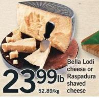 Bella Lodi Cheese Or Raspadura Shaved Cheese