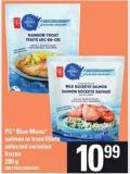PC Blue Menu Salmon Or Trout Fillets - 280 G