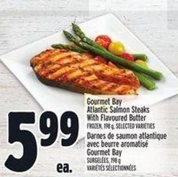 Gourmet Bay Atlantic Salmon Steaks With Flavoured Butter