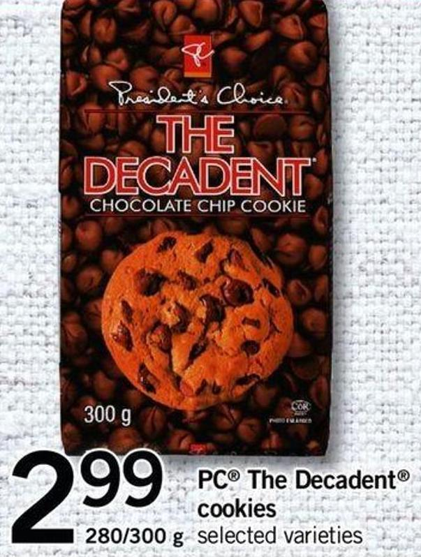 PC The Decadent Cookies 280/300 g