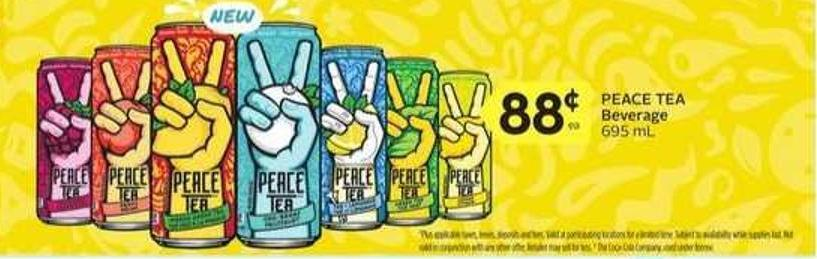 Peace Tea Beverage