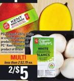 PC Organic - 227 G White Or Cremini Mushrooms PC Kent Mango