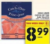 High Liner Catch Of The Day Fillets