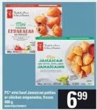 PC Mini Beef Jamaican Patties Or Chicken Empanadas - 480 g