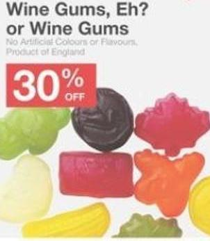 Wine Gums - Eh? or Wine Gums