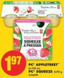 PC Appletreet 6x100 mL - PC Squeeze 4x90 g