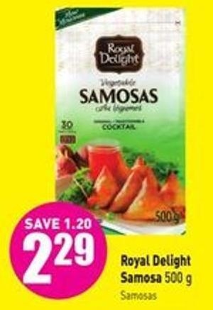 Royal Delight Samosa 500 g