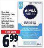 Nivea Men Moisturizing Cream