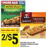 Nature Valley Or Quaker Harvest Bars