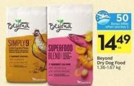 Beyond Dry Dog Food 1.36-1.67 Kg - 50 Air Miles Bonus Miles