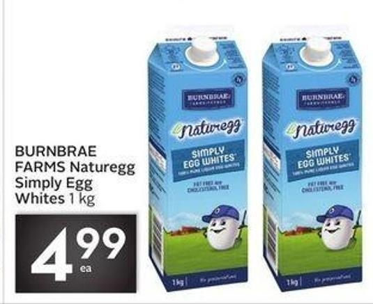 Burnbrae Farms Naturegg Simply Egg Whites