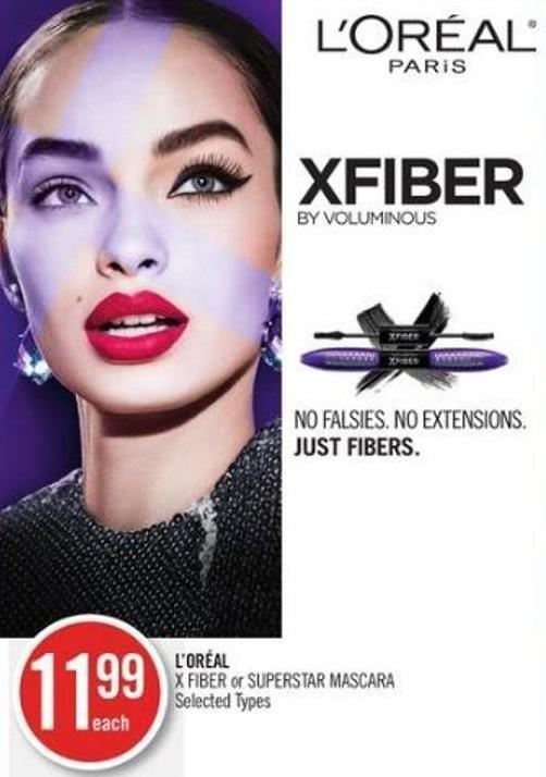 L'oréal X Fiber or Superstar Mascara