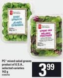 PC Mixed Salad Greens - 142 G