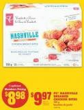 PC Nashville Breaded Chicken Bites - 700 g